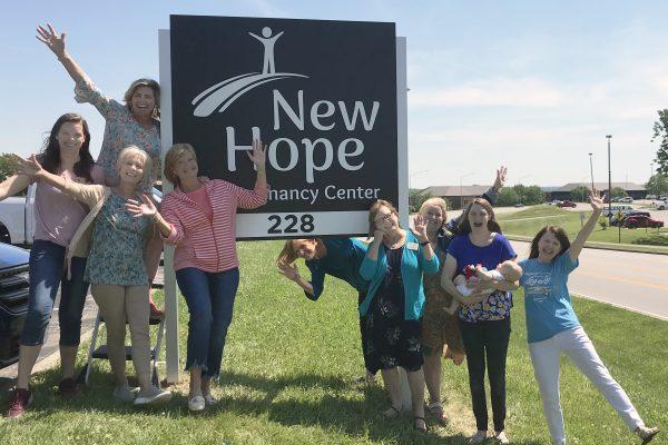 New Hope Center New Sign June 2021